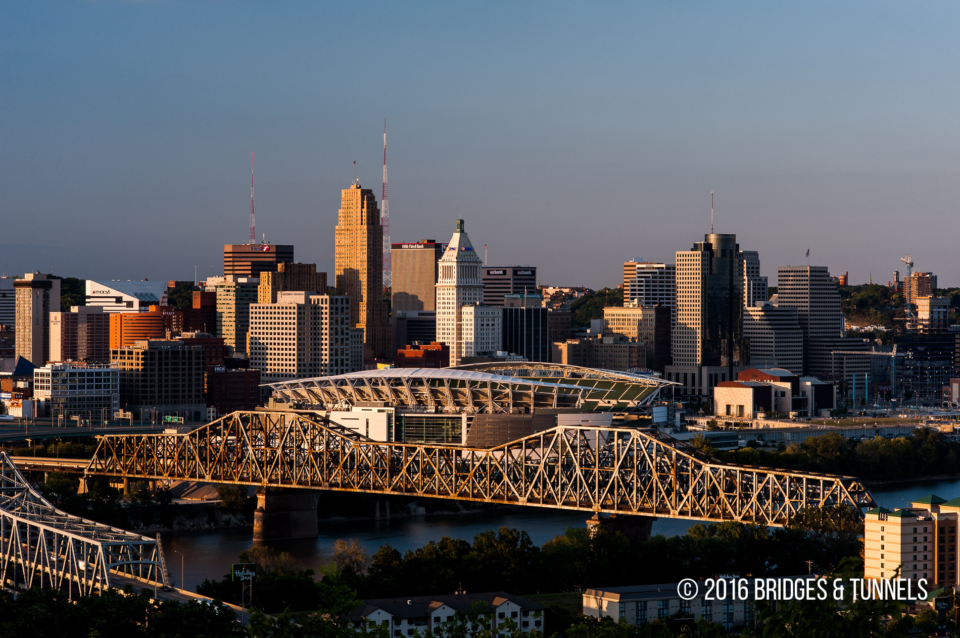 Brent Spence Bridge (Interstates 71 and 75) - Bridges and Tunnels