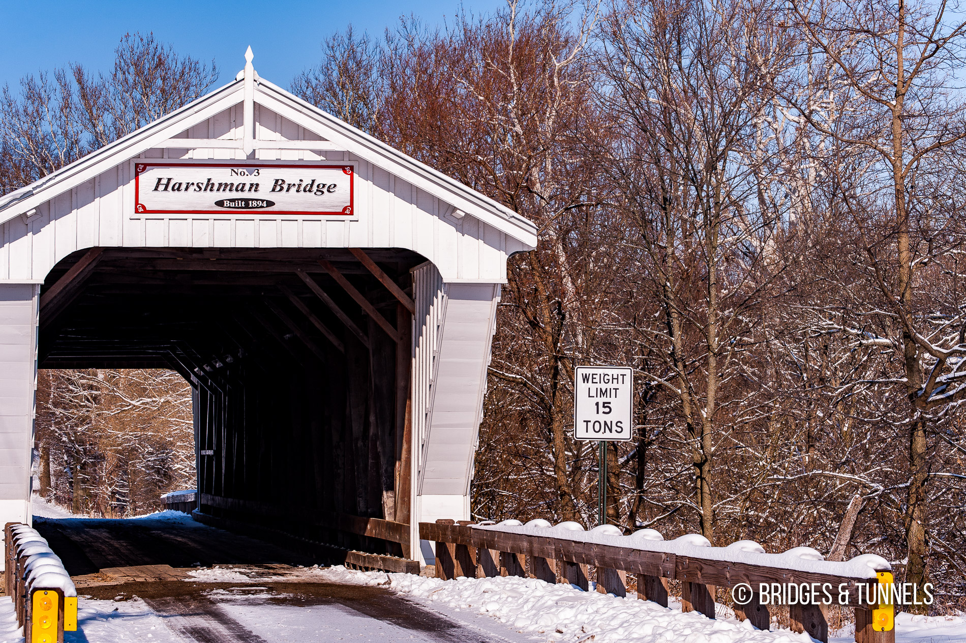 Harshman Covered Bridge Bridges And Tunnels