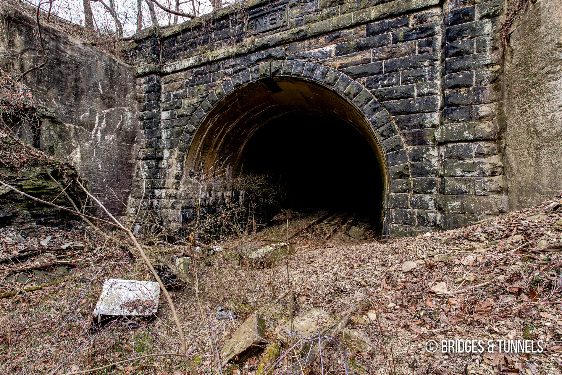 Tunnel No  6 (Baltimore & Ohio Railroad) - Bridges and Tunnels